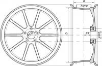 Расшифровка маркировки автомобильных колесных дисков. Помощь в выборе дисков. Делимся опытом.