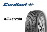 Официальные российские шины All-Terrain от Cordiant.