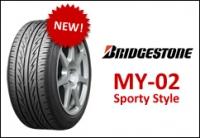 Bridgestone MY-02 Sporty Style. Новая летняя шина 2013?