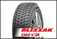Новинка! Зимние нешипованные шины(липучка) Bridgestone Blizzak DM-V2. Обзор, описание.